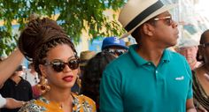 Beyonce in Cuba. Glam-meets-Badu vibes.