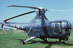 1950 - Royal Air Force (RAF) / Royal Navy Fleet Air Arm (RNFAA) Westland Dragonfly (Single-Engined Piston Helicopter)