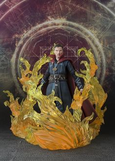 Facebook Twitter Reddit Google+ Pinterest StumbleUpon Tumblr EmailBluefin, aNorth American distributor of toys, collectibles, and hobby merchandise from Japan, has announced that it is expanding its line of officially licensed Marvel inspired action figures from Tamashii Nations with the announcement of the S.H.Figuarts Doctor Strange & Burning Flame Set. Scheduled for a June 2017 release