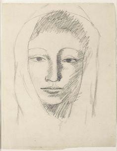Pablo Ruiz Picasso (1881 - 1973) pintor y escultor español, creador, junto con Georges Braque, del cubismo. Retrato de Fernande Olivier