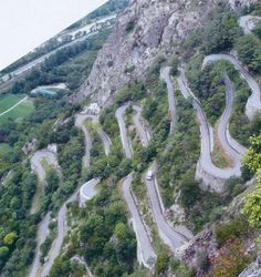 The most beautiful passes in the european Alps - Col de la Madeleine 6.562 ft (2.000 m)
