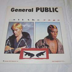 GENERAL PUBLIC - ALL THE RAGE - USED VINYL LP   http://www.ebay.com/itm/GENERAL-PUBLIC-ALL-THE-RAGE-USED-VINYL-LP-1984-IRS-SP-70046-/191992109597  #generalpublic #music #vinylrecords #eighties #recordcollector #ilovevinyl #vinylcollection #turntable #vinylcommunity #vinyloftheday