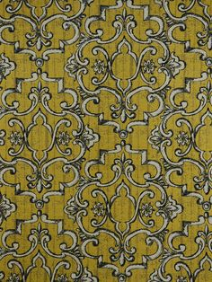 TREILLAGE GOLDENROD #blue-turquoise #woven-fabrics Mansions Homes, Financial Institutions, Trellis, Damask, Fabrics, Turquoise, Dining, Blue, Beautiful