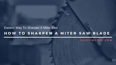 Steps to sharpen a miter saw blade.place the diamond file on the first marked tooth facing the flat part of the blade. Saw Sharpening, Miter Saw, Circular Saw, Injury Prevention, Blade, Router Jig, Router Jig, Llamas