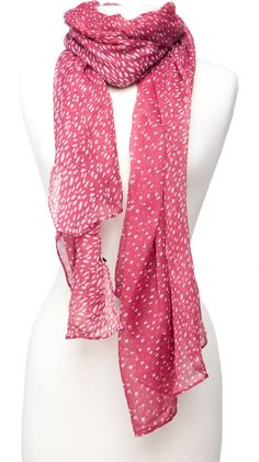 Dot Print Scarf. Only 10.00!!!#Repin By:Pinterest++ for iPad#