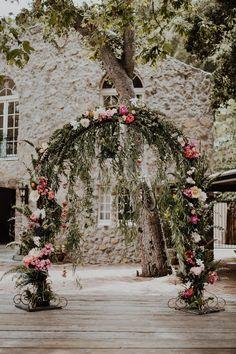 Whimsical Garden Wedding At A Malibu Private Estate ⋆ Ruffled - This Whimsical Garden Wedding Is Pure MAGIC Whimsical Wedding Theme, Magical Wedding, Wedding Themes, Floral Wedding, Wedding Decorations, Wedding Bouquet, Wedding Dresses, Indoor Wedding, Garden Wedding