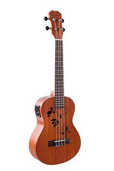 Caramel CT400 Mahogany Butterfly Style Tenor Acoustic Electric Ukulele Caramel http://www.amazon.com/dp/B011R0XDYQ/ref=cm_sw_r_pi_dp_40tSwb0GXNYXA