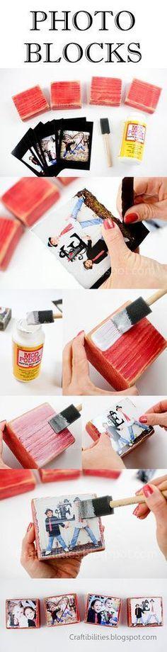Photo Blocks DIY