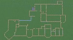 minecraft blueprints mansion - Google Search I think this would be pretty cool to build...