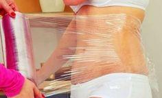 Reduce grasa localizada con papel film y miel