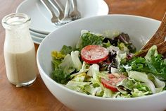 Olive Garden's Salad and Dressing | 30 Copycat Recipes For Your Favorite Chain Restaurant Foods
