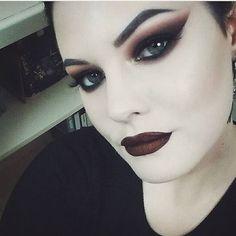 Hi!  #makeup #beauty #mua #darkmakeup #gothgoth #altstyle #altmakeup #kvdlook #kvdbeauty #vampira #pale #eotd #motd #smokeyeye #mividalocapalette #shadeandlight #everlastingliquidlipstick  #tartecosmetics #anastasiabeverlyhills #makeupforever #benefitcosmetics #urbandecay #hourglasscosmetics  #makeupartist #gothmakeup #gothglam #alternativegirl #palegirl  #beautyblogger  #hollywoodnoirmakeup