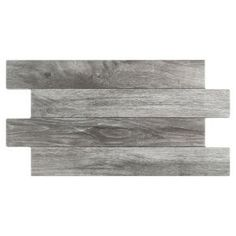 Buy the Affinity Tile Cendre Direct. Shop for the Affinity Tile Cendre Moscu - x Rectangle Floor and Wall Tile - Textured Wood Visual - Sold by Carton SF/Carton) and save. Porcelain Wood Tile, Porcelain Floor, Wood Look Tile, Tile Wood, Tiles Texture, Grey Wood, Gray, Stone Tiles, Bathroom Interior Design