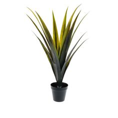 Potted Agave Long Leaf 79cm - Artificial Branches, Bushes & Trees - Artificial Plants
