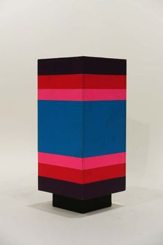 Ettore Sottstass Jr; Painted Wood 'Superbox' Cabinet, 1966.