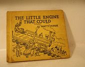 Old Children's Cardboard Book. $2.00, via Etsy.