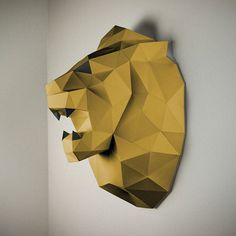 New Paper Animal Trophies