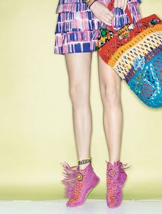 Blabber, Etcetera: Tribal Teen Vogue