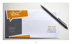 Interesting envelope design