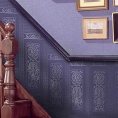 Rococo panel, paintable Dado wallpaper 437-RD06730