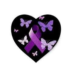 Wear purple for a cure! Fibromyalgia and Lupus. Alzheimers Awareness, Breast Cancer Awareness, Purple Ribbon, All Things Purple, Purple Stuff, Crohns, Awareness Ribbons, Domestic Violence, Rose