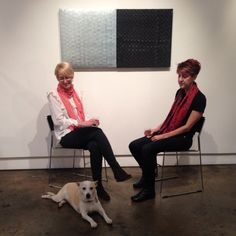 Brenda interviewed by the duo from Two Bikes, Art in Conversation