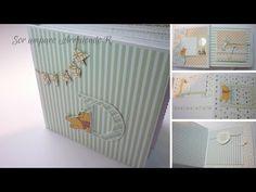 Manualidades: Álbum para niño scrapbook DIY ♥ - YouTube Mini Scrapbook Albums, Diy Scrapbook, Mini Albums, Scrapbooking Ideas, Mini Photo, Layout, Toy Chest, Diy Projects, Fun