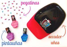 Kit completo de manicura de #MH! Incluye: secador de uñas, pintauñas, pegatinas...!