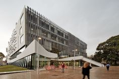 For the University of Melbourne's design school in Australia, the two architec.For the University of Melbourne's design school in Australia, the two architec. Security Architecture, Education Architecture, Architecture Plan, World University, University Of Melbourne, John Wardle, University Architecture, Questions, Plan Design