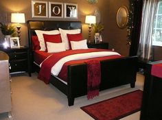 Smart bedroom design that looks smashing even beyond Christmas [Design: Focal Point Styling]