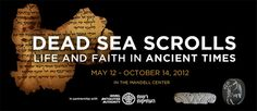 Lecture Series @ the Franklin Institute: Learn About The Dead Sea Scrolls, Now Through the Fall via Geekadelphia