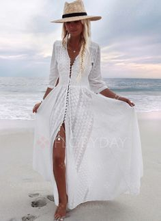 Shop Floryday for affordable Boho Dresses. Floryday offers latest ladies' Boho Dresses collections to fit every occasion. Look Boho, Bohemian Style, Bohemian Fashion, Bohemian White Dress, Gypsy Style, Hippie Chic, Hippie Style, 15 Dresses, Summer Dresses