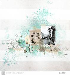 ILS - scrapbooking: Janvier DT galerie!  Page toute douce