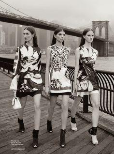 A Newer Look: Harper's Bazaar UK November 2014 Photographed by Arthur Elgort - Christian Dior