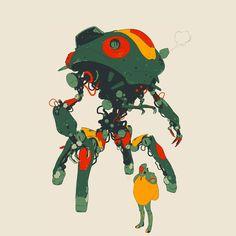 Unused enemy hunter concepts 2014. By Calum Alexander Watt.