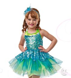 Curtain Call Costumes® - On Stage - 2-in-1 Kids or baby ballet and tap/jazz dance costume