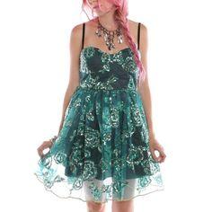 #ironfist clothing #rocker dress #dress