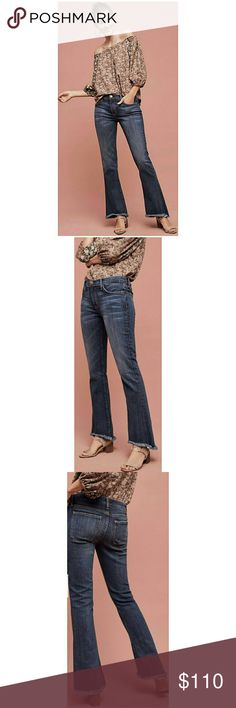 "Current Elliot ""the flip flop jean. Size 29 Worn once only! Like new condition! Size 29. Waist 32"" Rise 9.5"" Inseam 32"" Unfortunately not a good fit on me😕 Retail is $218 on the Anthropologie site! Anthropologie Jeans Boot Cut"