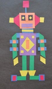 quadrilateral shapes robot