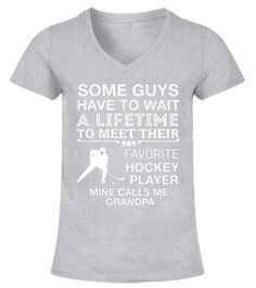 "# My Favorite Hockey Player Calls Me Grandpa Proud T-Shirt .  Special Offer, not available in shops      Comes in a variety of styles and colours      Buy yours now before it is too late!      Secured payment via Visa / Mastercard / Amex / PayPal      How to place an order            Choose the model from the drop-down menu      Click on ""Buy it now""      Choose the size and the quantity      Add your delivery address and bank details      And that's it!      Tags: This design is just one of…"