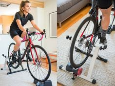 7 At-Home Workouts That Are Better Than the Gym: Bike Trainer Home Exercise Bike, Home Exercise Routines, At Home Workouts, Cardio Workouts, Recumbent Bike Workout, Bicycle Workout, Cycling Workout, Cycling Gear, Bike Trainer