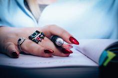 54 nails: pink nail art designs make girls beautiful · makeup Nail Polish Brands, Red Nail Polish, Red Nails, Glitter Nails, Toenail Fungus Remedies, Toenail Fungus Treatment, Nails Short, Long Nails, Nail Art Designs