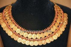 Double layer kasulaperu necklace