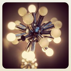 Have this in brass with 2X as many bulbs