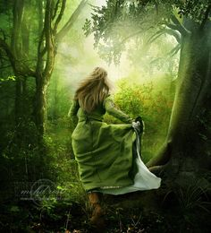 ' .:there is light...:.  by =moroka323  Digital Art / Photomanipulation / Emotional©2009-2012 =moroka323 ' #greenness