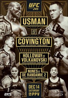 "UFC 227 Poster Dillashaw VS Garbrandt 2 UFC MMA Fight Event Print 13x20/""-32x48/"""