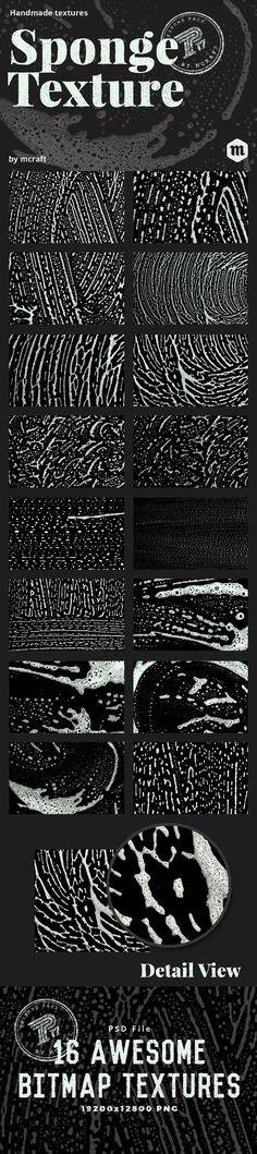 Sponge Texture Pack 1.7 by Mcraft Shop on @creativemarket