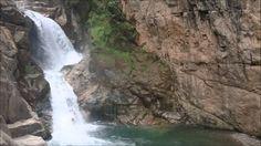 Balneario cascada el salto en Minatitlán Colima
