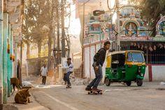 Skating in #Bangalore, #India · #skateboarding #skateboard