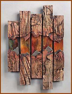 JANEY SKEER CLAY & STEEL - DENVER ARTIST - Gallery of Works - Wall Pieces: